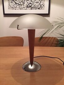 Classic IKEA lamp with glass shade