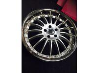 """Mercedes Audi Passat VW 19 """" inch alloy Wheels"""