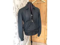 Mens size small Ted Baker leather jacket
