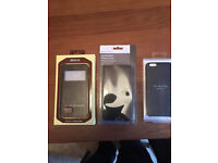 8 x iphone 6 /6s phone cases some new in box