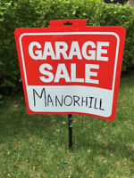 Multi-Family Yard Sale - Manorhill Ave (Old West near Hospital)