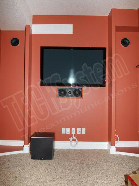 Tv Wall Mount Installation Wiring Security Camera Cable