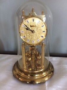 Vintage Kern Gold Clock