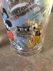Walt Disney collectable glasses 100 anniversary Gatineau Ottawa / Gatineau Area image 2