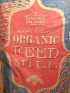 Certified Organic Chicken / Poultry Feed
