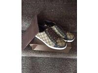 Gucci ...supreme canvas lace up sneaker