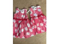 With tags 2 JASPER CONRAN DRESSES 3-4 & 4-5