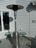 PATIO HEATER STAINLESS STEEL COMMERCIAL QUALITY