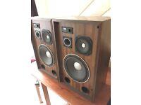 SUPER RARE vintage Sansui sp-6100 speakers