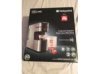Hotpoint Coffee Machine Brand New Unopened RRP £129