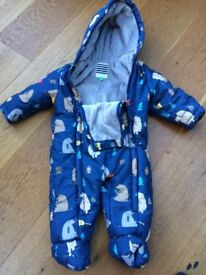 Baby warm all in 1 suit 6-9 months