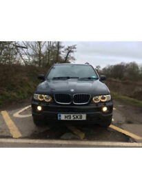 BMW X5, 2005 in black