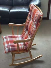 John Lewis rocking chair with cushion
