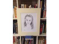 Portraiture art (Pencil or oils)