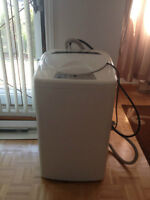 Portable Washer is perfect for house, condos, apartments