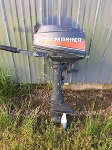 Mariner 8hp outboard.