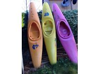 3 x rotobat kayaks for sale.