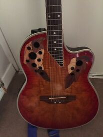 Stagg A2006 electro acoustic guitar in sunburst