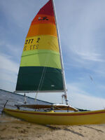 Hobie 14 for sale with Trailer - Ready for the water