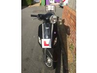 Lintex HT50QT-12 moped scooter 80cc registered as 50cc