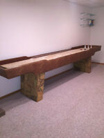 Carpenters Built Shuffle Board Table