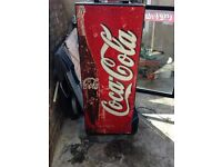 Soft drinks fridge