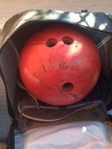Must Go. Bowling Ball, bags and Shoes