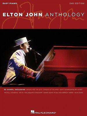 Elton John Anthology 2nd Edition Sheet Music Easy Piano Book NEW 000357102