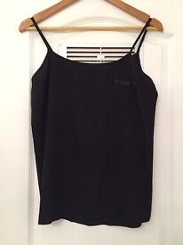 New- black Cami top size 10