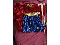 Adults Wonder Woman and robin