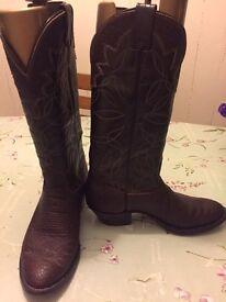 Original men's Nocona boots from texas