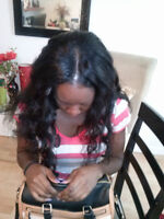Prof. Hair Serv. Full Weave Also Avail. Same Day 438-998-4360