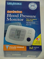 New Life Source Blood Pressure Monitor~Deluxe One Step~Medium