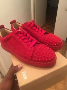 Brand Red New Louboutin Size 10