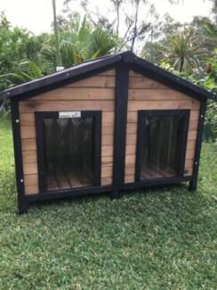 *ASSEMBLED PICK UP ONLY* Somerzby xl Double Dog Kennel