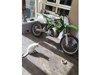 Kawasaki kx 250 2001