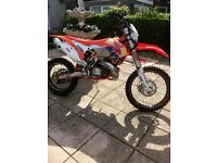 ktm 300cc may take part x for 2 stroke