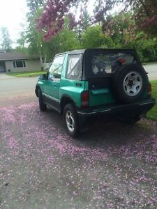 1995 Chevrolet Tracker Coupe (2 door)