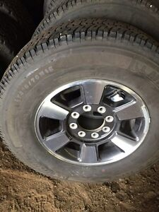 Factory Ford 8 bolt rims and tires