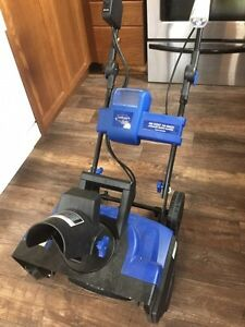 Wanted- charger and battery for this cordless snowblower  Kawartha Lakes Peterborough Area image 3