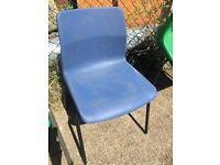 Blue Stacking School Chair