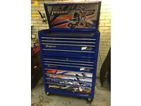 Snap On Roll Cab/ Toolbox Yamaha MTO limited edition pus side cabinet £1600 ONO