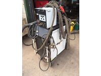 EWM puls synergic Mig mag welder stainless aluminium steel water cooled watercooled 10 metre cable