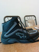 ALPINE STAR WOMENS MOTORCYCLE SHOES BARELY USED
