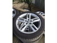 Audi A6 S-line alloys and tyres 245/45/18 inch