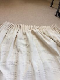 3 pairs Fully lined curtains