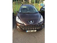 Peugeot 207SW 1.6 HD i 92. Only 42,300 miles. Very good condition.