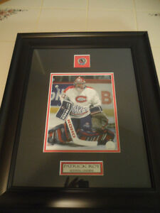 PATRICK ROY HALL OF FAME AUTOGRAPH