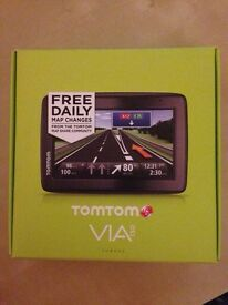 Tomtom Via 130 UK and Europe satnav