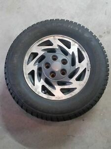 Studded winter tires 215/65/R15